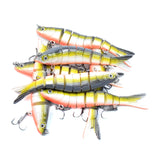 Hercules Fishing Lures Multi Jointed Swimbaits Slow Sinking Bionic Lures Freshwater Saltwater Bass Fishing Lures