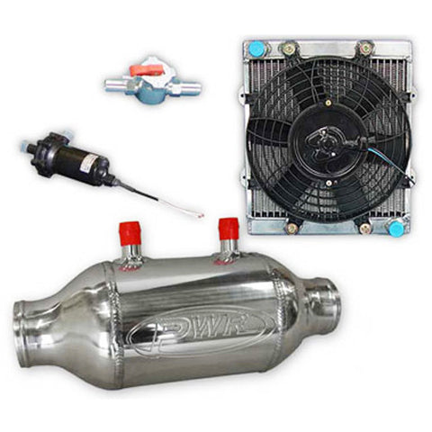 PWR Performance Products Intercoolers - Liquid to Air Kits