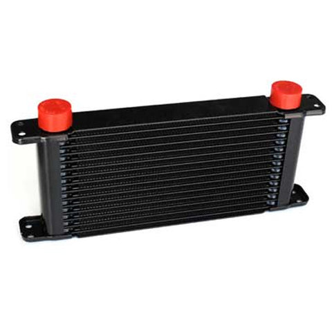 PWR Performance Products Oil Coolers - 37mm Plate and Fin Engine Oil Cooler - Owen Developments
