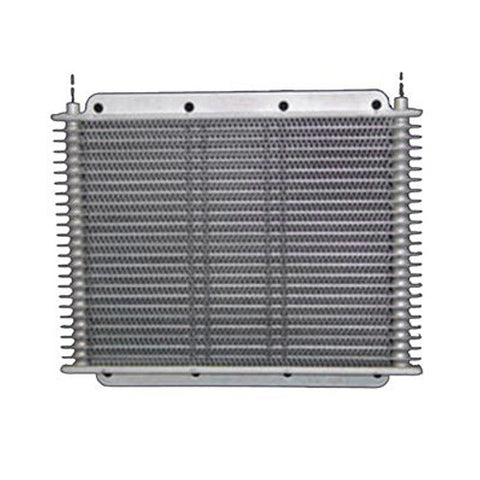 PWR Performance Products Oil Coolers - 19mm Plate and Fin Gearbox Oil Cooler - Owen Developments