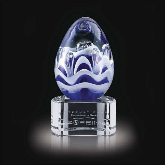 "Astral Award on Clear Base - 4 1/2"" High"
