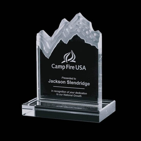 Kilimanjaro Mountain Award - Jade 6""