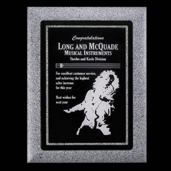 "Lonsdale Plaque - Gray 9""x12"""