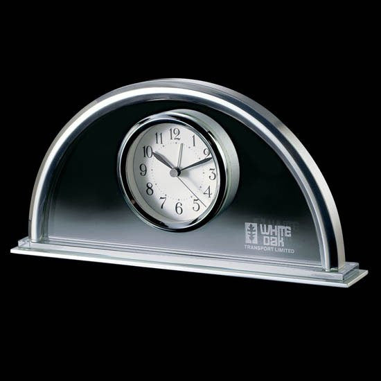 Cartier Clock - Chrome