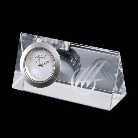 "Dufferin Clock - Optical 4"" Wide"