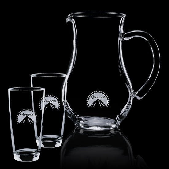 Carberry Pitcher & 2 Hiballs