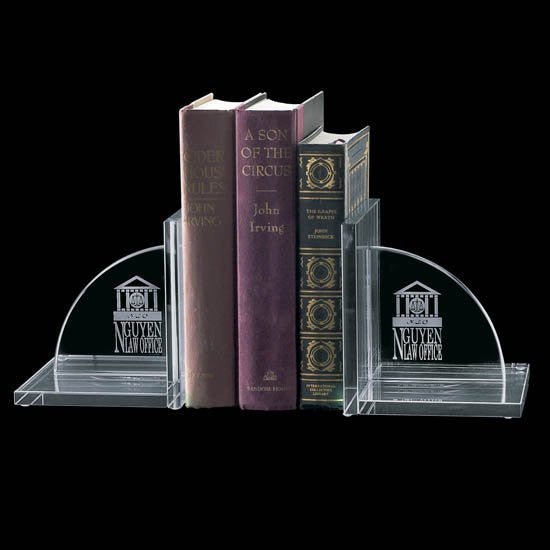 Amberwood Bookends - Jade (Set of 2)