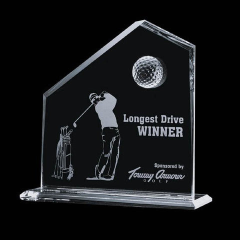 "Andover Golf Award - 8"" x  8"""
