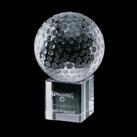 "Bellevue Golf Award - Optical 4"" Diam"