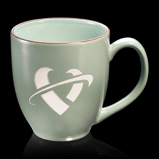 Bistro 3-Tone Mug - 16oz Sea Salt Green
