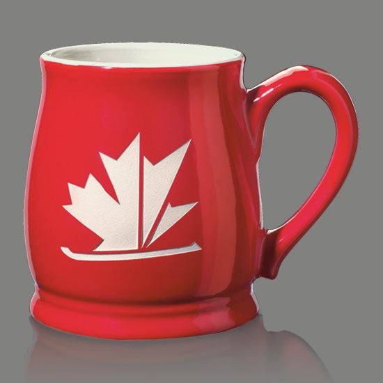 Biscayne Mug - 16oz Red