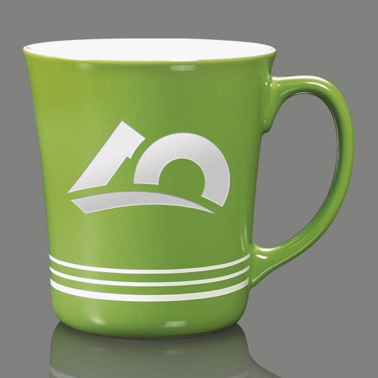 Churchill Mug - 16oz Lime Green