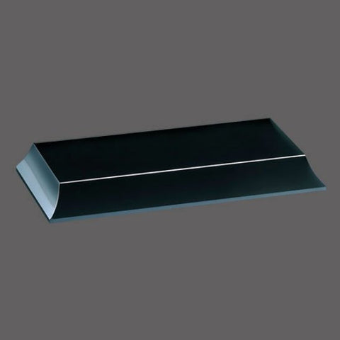 "Bartlett Base - Black 3 1/2"" x 10"""