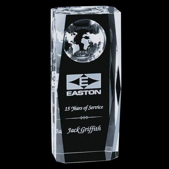 Falkirk Globe Award - Optical 5 1/2""