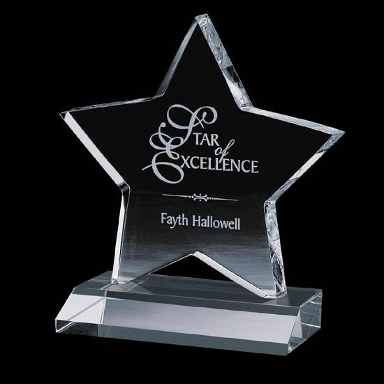 Chippendale Star Award - Optical 6""
