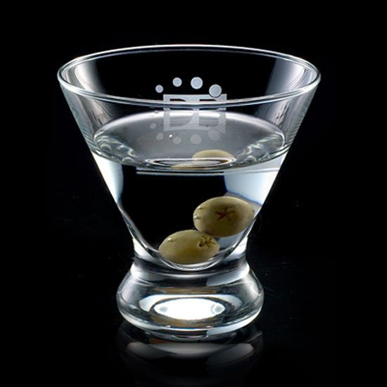 Brisbane 8oz Stemless Martini