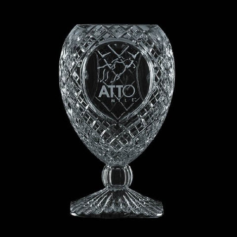 Dynasty Trophy - Lead Crystal 14""
