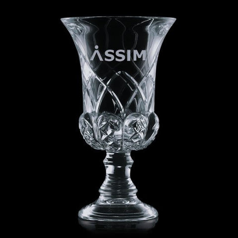 Hampshire Trophy -  Lead Crystal 13""