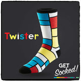 Twister Socks - February 2016
