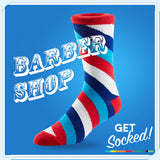 Barber Shop Socks - June 2016
