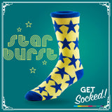Star Burst Socks - March 2016