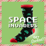 Space Invaders Socks - May 2016