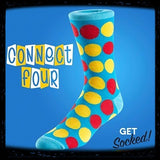Connect Four - Bamboo Socks