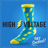 High Voltage - Bamboo Socks