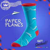 Paper Planes - Bamboo Socks