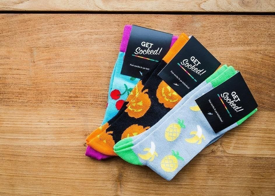 3 Monthly Sock Subscription - GetSocked Bamboo Socks on Monthly Subscription!