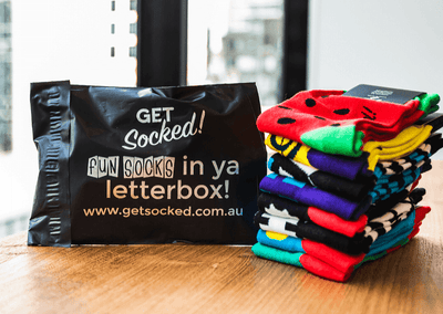 6 Month Sock Subscription (Once Off) - GetSocked Bamboo Socks on Monthly Subscription!