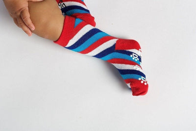 Barber Shop - Baby Socks by GetSocked - GetSocked Bamboo Socks on Monthly Subscription!