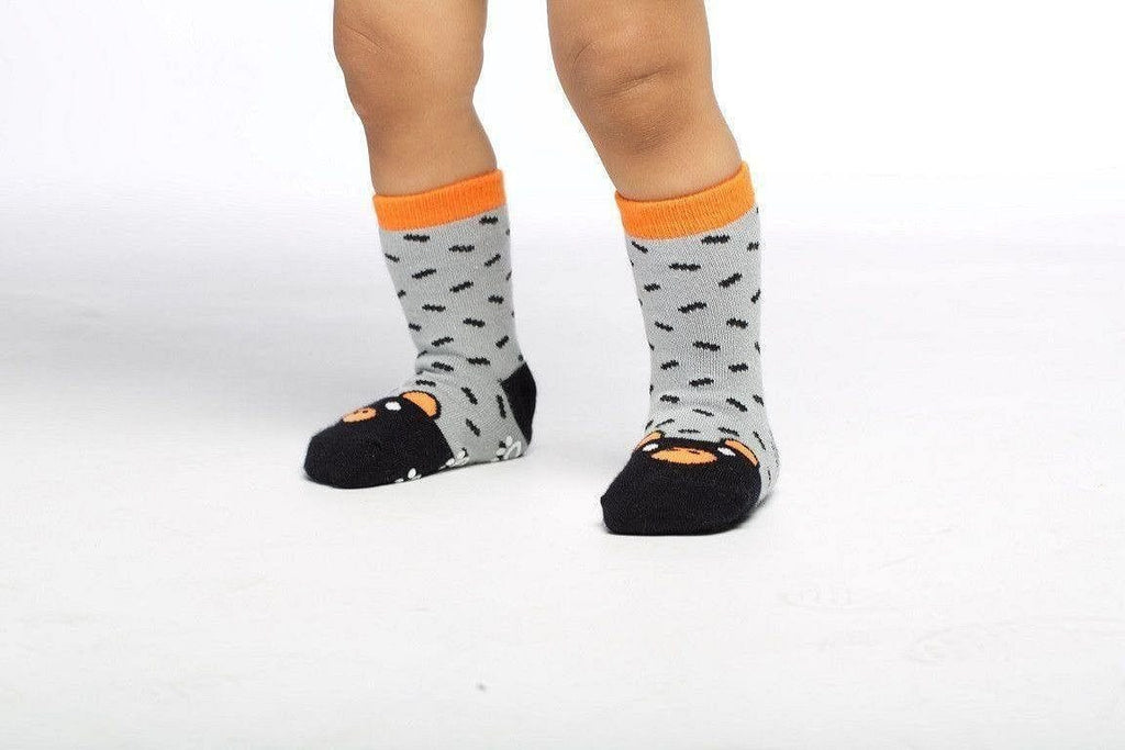 Bear  - Baby Socks by GetSocked - GetSocked Bamboo Socks on Monthly Subscription!