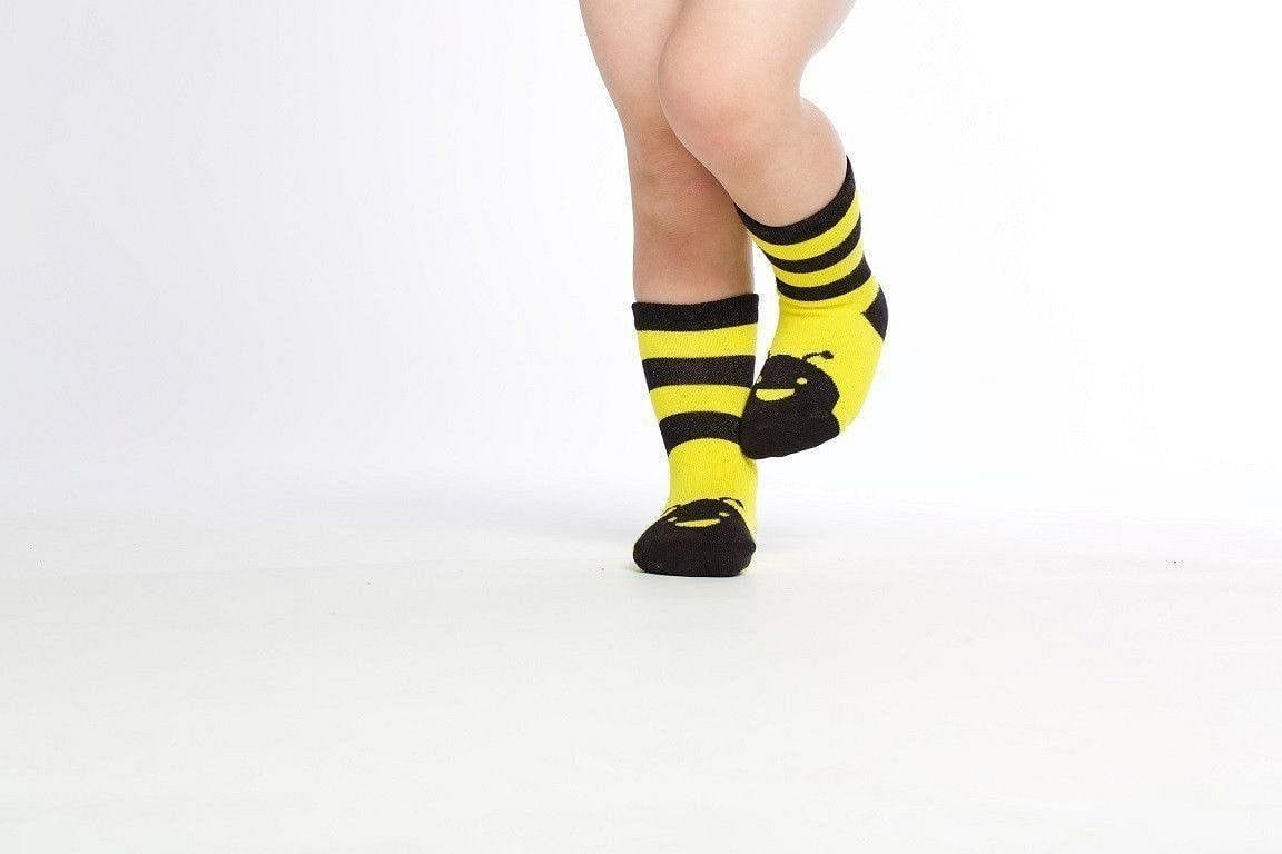 Bumblebee  - Baby Socks by GetSocked - GetSocked Bamboo Socks on Monthly Subscription!