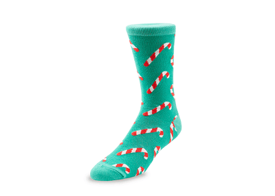 Candy Cane (Xmas) - GetSocked Bamboo Socks on Monthly Subscription!