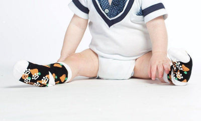Carrots  - Baby Socks by GetSocked - GetSocked Bamboo Socks on Monthly Subscription!