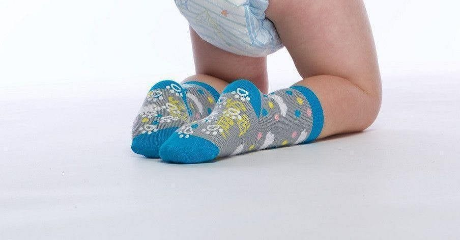 Cloud  - Baby Socks by GetSocked - GetSocked Bamboo Socks on Monthly Subscription!