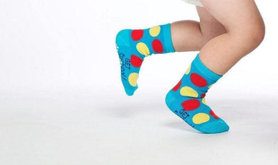 Connect Four  - Baby Socks by GetSocked - GetSocked Bamboo Socks on Monthly Subscription!