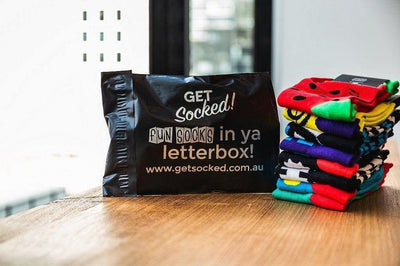 Fathers Day Gift Ideas - Monthly Sock Subscription-GetSocked!