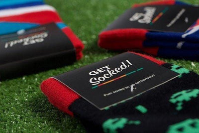 Fathers Day Gift Ideas - Monthly Sock Subscription - GetSocked Bamboo Socks on Monthly Subscription!