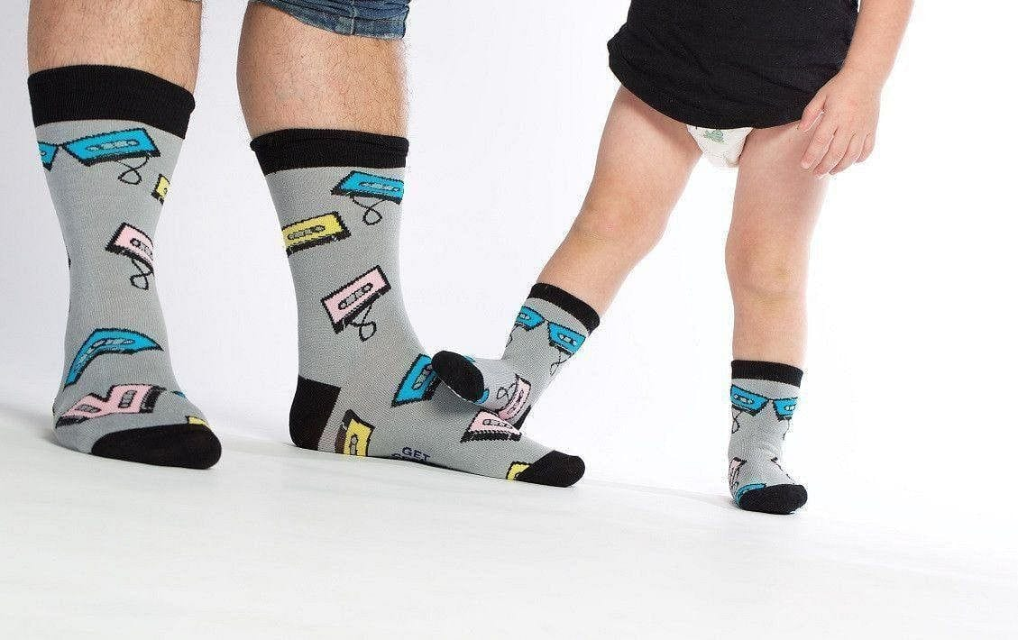 Mix Tape - Baby Socks by GetSocked - GetSocked Bamboo Socks on Monthly Subscription!