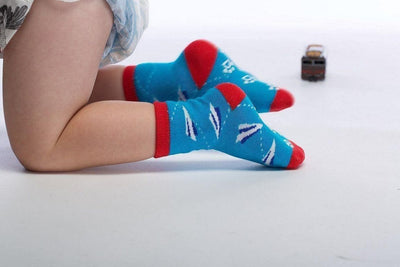 Paper Planes - Baby Socks by GetSocked - GetSocked Bamboo Socks on Monthly Subscription!