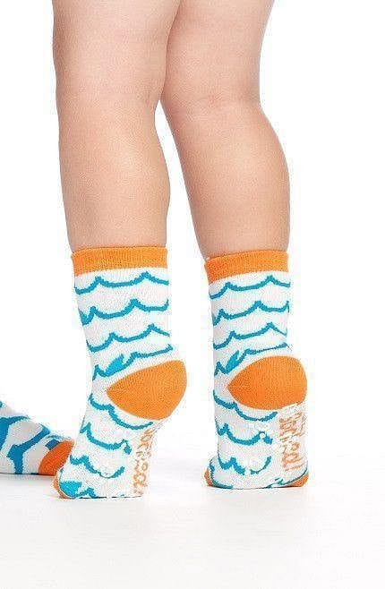 Sharknado - Baby Socks by GetSocked - GetSocked Bamboo Socks on Monthly Subscription!