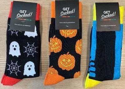 Trio of Halloween Socks