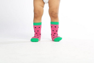 Watermelon - Baby Socks by GetSocked-GetSocked!