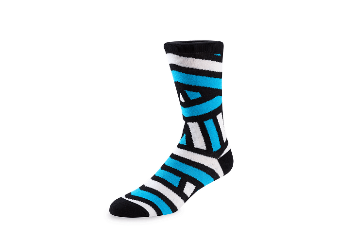 Zebra 2.0-AdultSocks-GetSocked!
