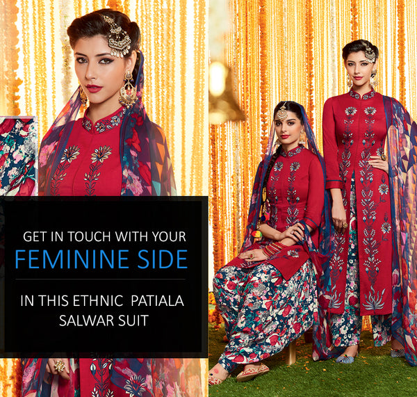 designer patiala salwar suits