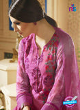 Sahiba 001 Pink Embroidered Georgette Party Wear Suit