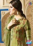 Sahiba 002 Green Embroidered Georgette Party Wear Suit
