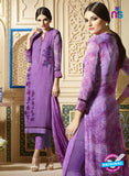 Sahiba 004 Purple Embroidered Georgette Party Wear Suit